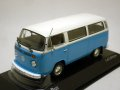 VW T2 Bus 1972 White/Blue