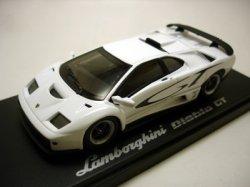 画像1: LAMBORGHINI DIABLO GT WHITE with GT logo