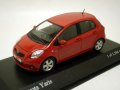 Toyota Yaris 2005 Red